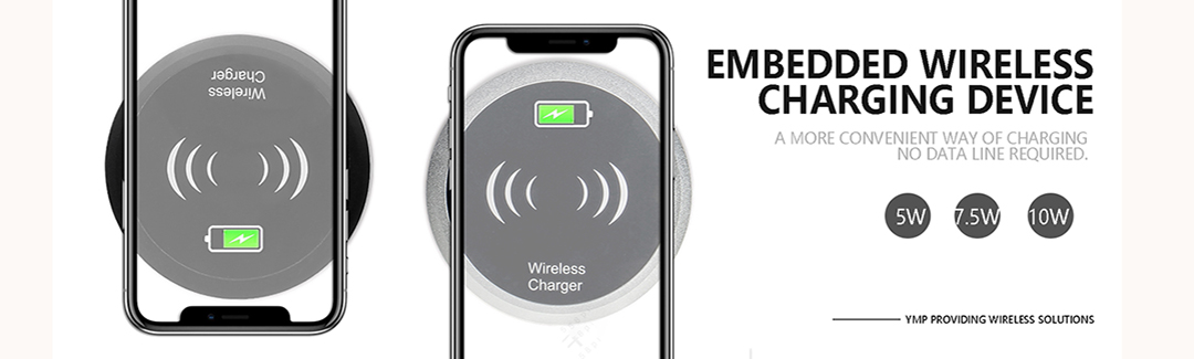 table embedded wireless charger T3