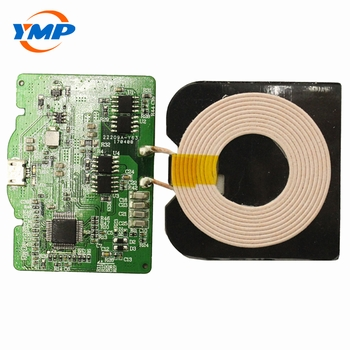 Single Coil 10 Watts Transmitter PCBA Patch Wireless Charger Square